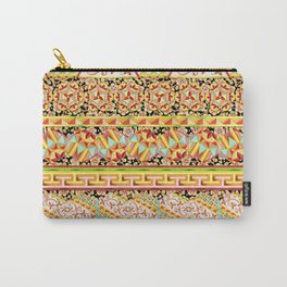 Gypsy Caravan Luxe Stripe Carry-All Pouch
