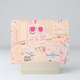 Flamboyant  Mini Art Print