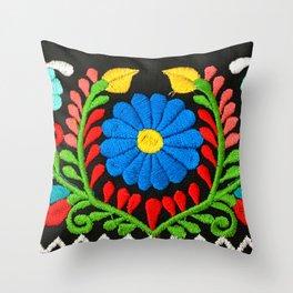 Mi Jardin Throw Pillow