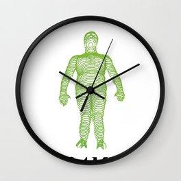GREEN LINE Wall Clock
