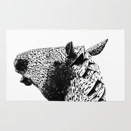 Horse Head. Rug