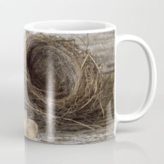 Found Bird Nest Mug