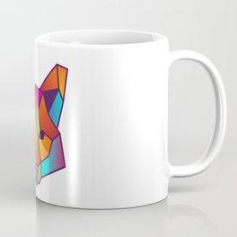 Fox | Geometric Colorful Low Poly Animal Set Coffee Mug