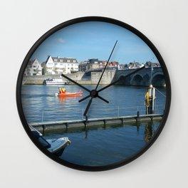 1680 Maas(tricht) Wall Clock