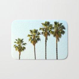Four Palm Trees Bath Mat