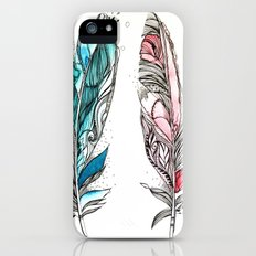 You & Me Feathers Slim Case iPhone (5, 5s)