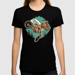 Freestyle Motorcycle Stunts FMX T-shirt