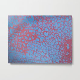 bushwick crackle Metal Print