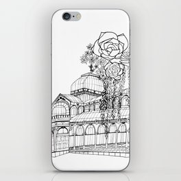 Conservatory of succulent - Black iPhone Skin