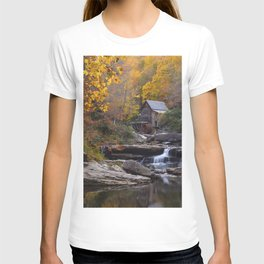 Glade Creek Grist Mill in Autumn II T-shirt