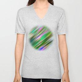 Pastel Flash Abstract Unisex V-Neck