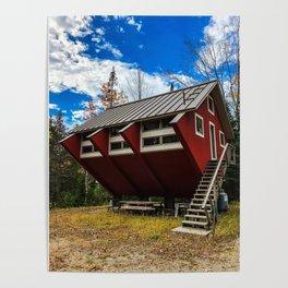 Unique Cabin in Maine Poster