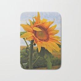 Sunrise Sunflower Bath Mat