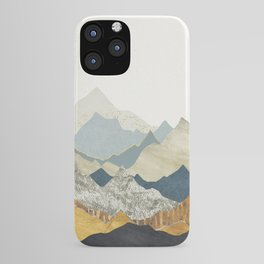 Distant Peaks iPhone Case
