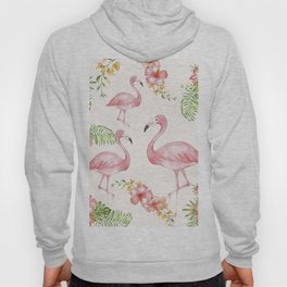 Flamingos Hoody
