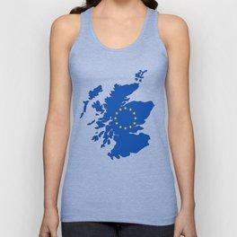 Scotland in EU Unisex Tank Top