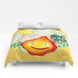 Howl's Moving Castle - Calcifer Comforters