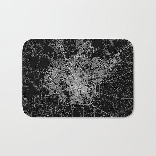 san antonio map Bath Mat