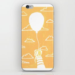 Cloudy Balloon iPhone Skin