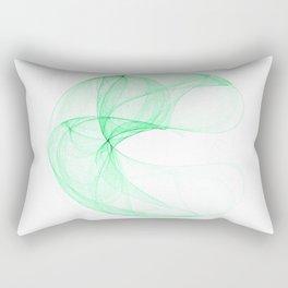Green attractor Rectangular Pillow