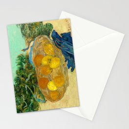 Still Life of Oranges and Lemons by Vincent van Gogh, 1889 Stationery Cards