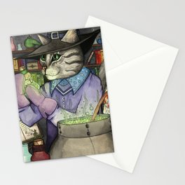 A Cat's Magic Stationery Cards