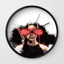 maybe the odds be ever in your favor Wall Clock
