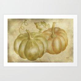 Autumn's Gifts Art Print