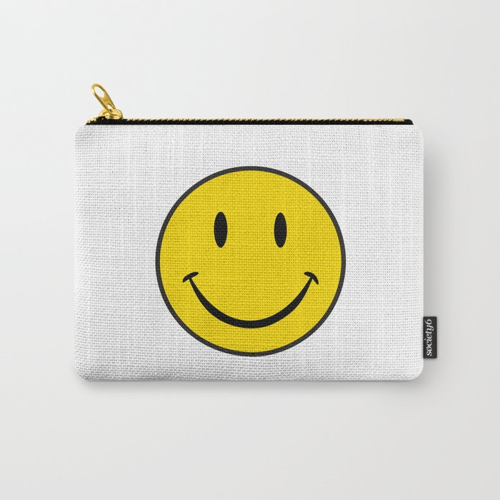 Smiley Happy Face Carry-All Pouch