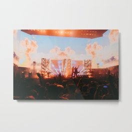 Porter Robinson and Madeon Metal Print