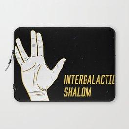 Intergalactic Shalom Laptop Sleeve