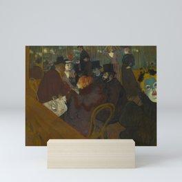 Henri de Toulouse-Lautrec - At the Moullin Rouge Mini Art Print