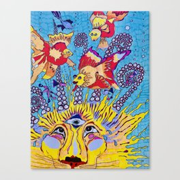 Lion of the Sea Canvas Print