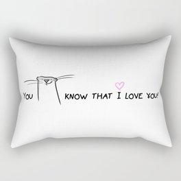 You otter know! Rectangular Pillow