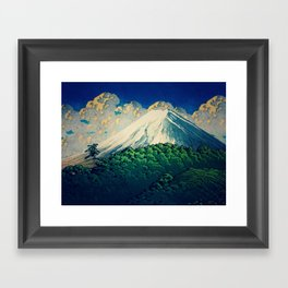 Resting at Gatahaka Framed Art Print