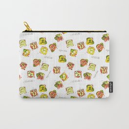 go vegan! Carry-All Pouch