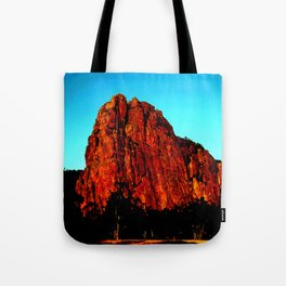 The red Rock Tote Bag