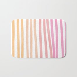Taffy Chalk Stripes Bath Mat