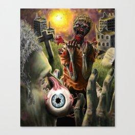 TERRITORIAL ZOMBIE Canvas Print