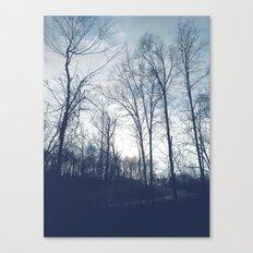Blue Vanilla Canvas Print
