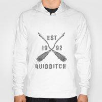 quidditch Hoodies featuring Varsity Quidditch by Makar Deku