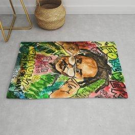 poppy,dancehall,reggae,music,lyrics,poster,jamaica,unruly,wall art Rug