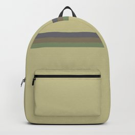 Zuzu  - Colorful Abstract Battle Stripes Backpack