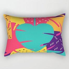 Retro leaves Rectangular Pillow