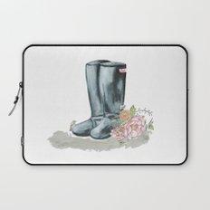 Spring rain boots Laptop Sleeve