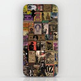 Rock n' roll stories II iPhone Skin
