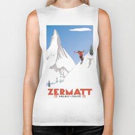 Zermatt, Valais, Switzerland Biker Tank