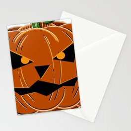 Halloween Pumpkin Stationery Cards