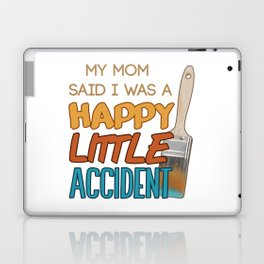 Happy Little Accident Laptop & iPad Skin