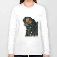 bane Long Sleeve T-shirts featuring BANE by csmithart
